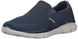 Skechers Equalizer-Double Play, Scarpe da Ginnastica Uomo, Blu (Navy), 48.5 EU (B015FRLXXA) | Amazon price tracker / tracking, Amazon price history charts, Amazon price watches, Amazon price drop alerts