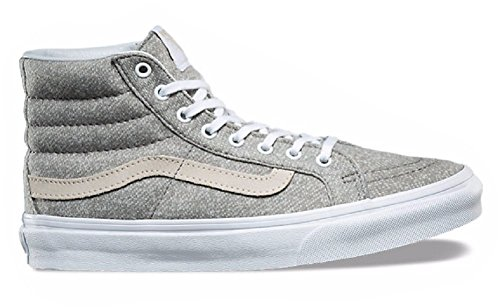 Vans Sk8-hi Slim (j S) -Fall 2017- Frost Gray/ True White Frost Gray/ True White