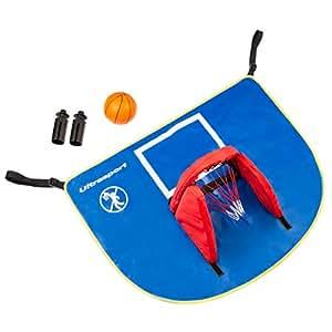 ultrasport trampolin basketball set mit plane korb und ball sport freizeit. Black Bedroom Furniture Sets. Home Design Ideas