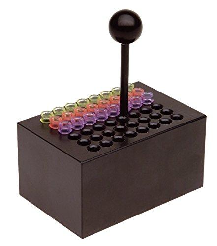 neoLab 2-2513 Heizblock Alu, 48 Vertiefungen für PCR-Gefäße oder 8er Strips 0,2 mL