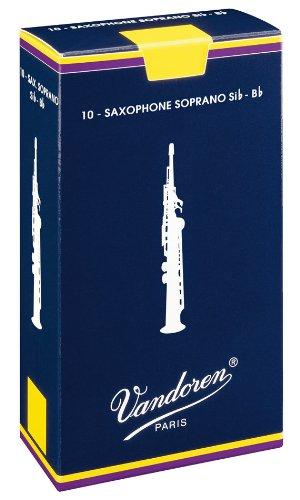 Vandoren SR203 Box 10 Ance Traditional 3 Sax Soprano