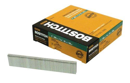 BOSTITCH SX50351G 1-by-7/32-Inch 18-Gauge Narrow Crown Finish Staple, 5000-Per Box by BOSTITCH -