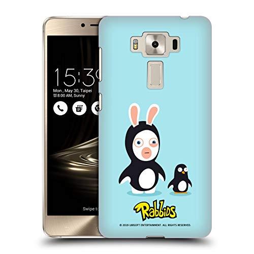 Head Case Designs Offizielle Rabbids Pinguin Kostueme Harte Rueckseiten Huelle kompatibel mit Zenfone 3 Deluxe 5.5 (Deluxe Pinguin Kostüme)