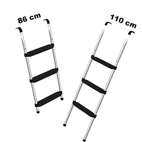Trampolin Leiter 86 cm lang   Einstiegsleiter mit 3 breiten