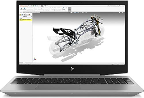 HP Zbook 15v G5 4QH61EA 38,1 cm (15,6 Zoll Full HD) Notebook (Intel Core i7-8750H, 16GB DDR4 RAM, 512GB SSD, NVIDIA Quadro P600 4GB, Windows 10 Pro) silber - G4 Grafikkarte
