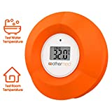 MotherMed Baby Bath Thermometer and Floating Bath Toy Bathtub and Swimming Pool Thermometer