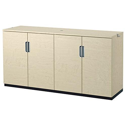 IKEA GALANT - Storage Kombination mit Türen Birkenfurnier