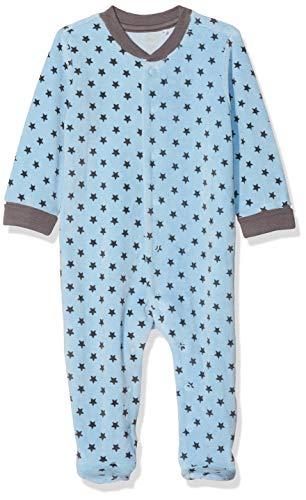 Chicco davanti tutina, turchese (azzurro medio 025), neonato (taglia produttore:44) unisex-bimbi