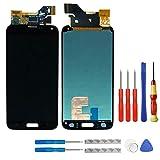 swark Super AMOLED Display für Samsung Galaxy S5 SM-G900F G900F schwarz + Werkzeug Opening Tool Modellnummer: GH97-15959B