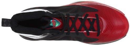 adidas - Crazy Fast, Sneaker Uomo Nero (Noir (Black 1/White Ftw))
