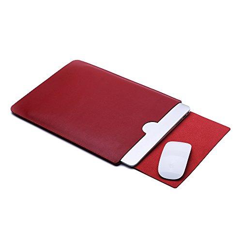 enterest tragbar leicht Laptop/Notebook mit Tasche Cover Fall Sleeve für MacBook Schutz Sleeve Tasche Tasche (Fall Leder-laptop-computer)