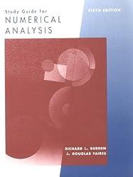 Numerical Analysis (Mathematics Series) by Richard L. Burden (1997-01-26)