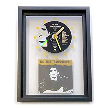 LOU REED – Transformer: GERAHMTE CD-WANDUHR/Exklusives Design