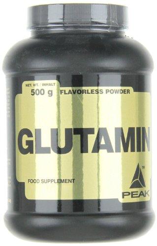#Peak Glutamin, Neutral, 500 g#