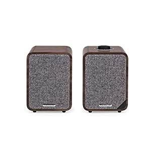 Ruark Audio MR1 MKII Bluetooth Active Speakers (Rich Walnut)