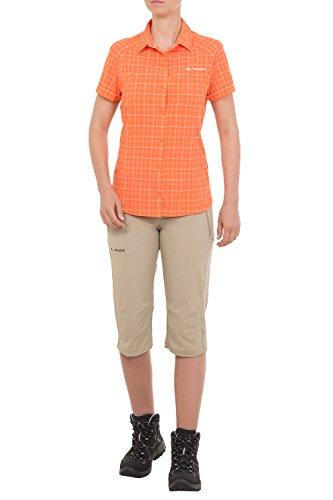 Vaude Chemisier pour femme Women's seiland T-shirt Orange - Hokkaido