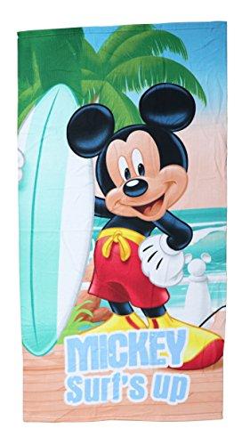 Mickey Mouse - Mickey toalla infantil microfibra 70x140 cm