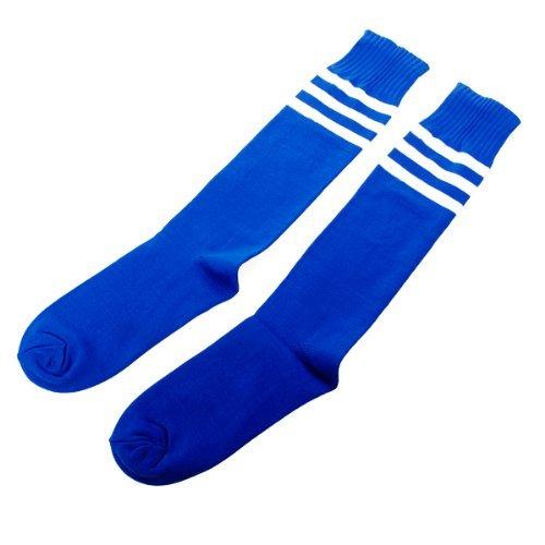 SODIAL(R) Alt Schule Knie hoch sportlich Sport Rohr Socke (Schienbeinschützer Bekleidung)
