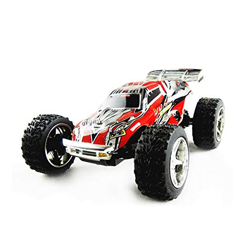 teuertes Geländewagen 5-Gang-Auto mit Variabler Geschwindigkeit und Fernbedienung 1:32 Hochgeschwindigkeits-Kinderspielzeug im Maßstab 1:32,Red ()