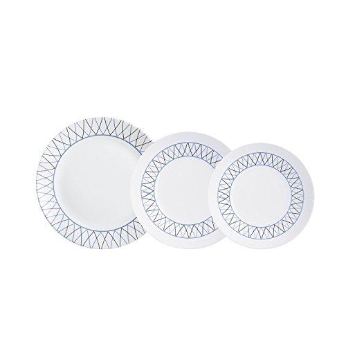 Arcopal - Vajilla Barata con 18 Piezas, Blanco