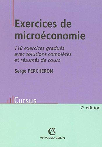 Exercices de microéconomie - 118 exerci...