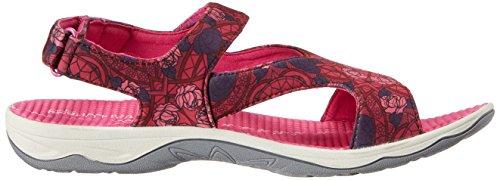 Easy Spirit Yogala Toile Sandale Red Multi
