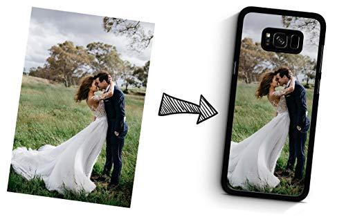 IDcaseFR Coque Silicone Bumper Souple Samsung Galaxy S8 Plus -Coque téléphone avec Photo personnalisée, Personnalisable avec Votre Propre Image au Choix Swag Case TPU Design+ Stylet