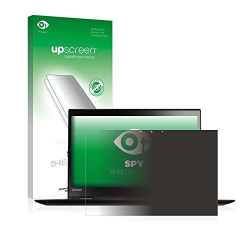 upscreen Anti-Spy Blickschutzfolie für Lenovo ThinkPad X1 Carbon Touch (4th Gen) Privacy Screen Displayschutzfolie - Sichtschutz, Kratzfest