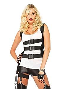 Leg Avenue - Disfraz para Mujer Guerrero, Talla M/L (270606001)