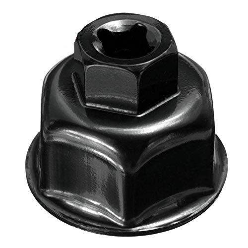 EDFDJED 36mm Schwarz Auto ÖlfilterKappe Sockel Antrieb fürfür