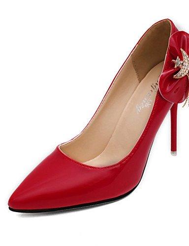 WSS 2016 Chaussures Femme-Soirée & Evénement-Noir / Marron / Rose / Rouge / Blanc-Talon Aiguille-Bout Pointu-Talons-Polyuréthane white-us5.5 / eu36 / uk3.5 / cn35