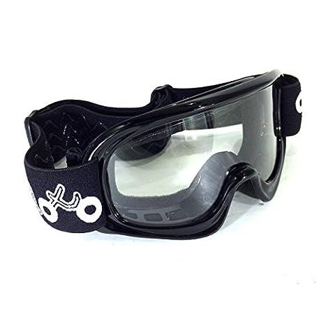 Viper Moto Accessories A341Casques de moto Accessoires de vêtements de protection visage et protège x1K Lunettes de sécurité enfant, Black, One