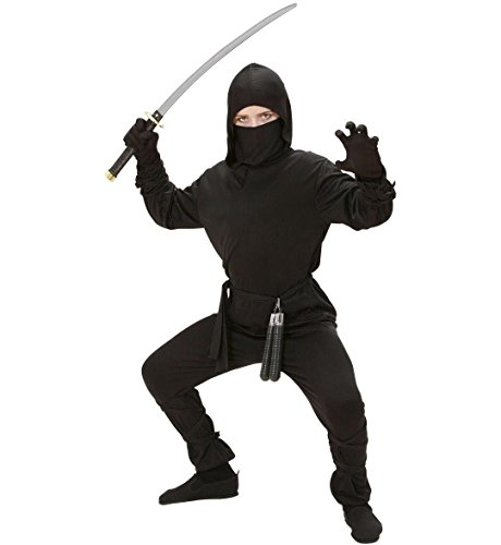 Ninja - Kinder-Kostüm - Large - (Kostüme Ninja Erwachsene)