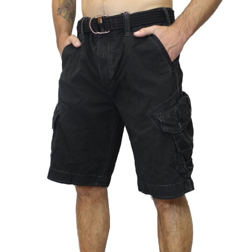 Jet Lag Shorts Take off 3 kurze Hose in charcoal cement schwarz olive camouflage -