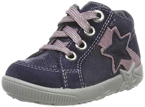 Superfit Baby Mädchen Starlight Sneaker, Blau (Blau/Lila 80), 23 EU
