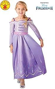Rubies 300460 3-4 Disney Frozen 2 - Disfraz de Frozen 2, para niñas, multicolor
