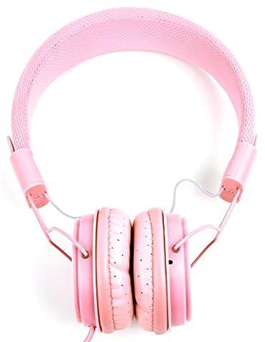 Casque pour Easy Karaoke EKG-88S, Enfants Karaoke Hello Kitty soirée dansante Lecteurs Cd+G Karaoké – rose pour enfant, par DURAGADGET