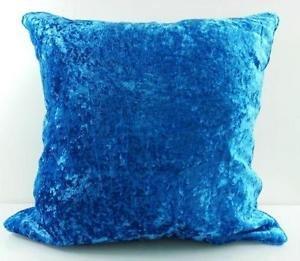 Tinte Craft Solide Samt luxuriöse Glatte dekorativer Überwurf-Kissen Kissenbezug/Sham mit unsichtbar Reißverschluss für Sofa 18x 18(1PCS), Samt, königsblau, Standard - Tinte Sham