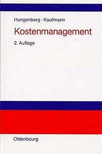 Kostenmanagement: Einführung in Schaubildform
