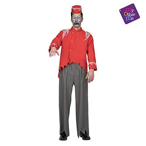 Hotelpage Kostüm - Zombie Hotelpage Kostüm für Herren M/L
