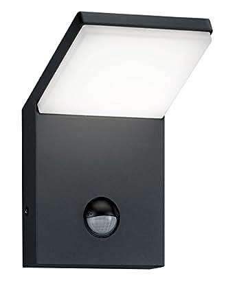 trio leuchten led aussen wandleuchte pearl aluminiumguss anthrazit 221169142. Black Bedroom Furniture Sets. Home Design Ideas