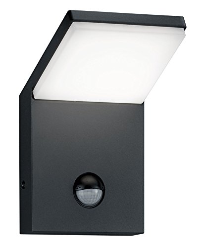 Trio Leuchten LED-Aussen-Wandleuchte Pearl Aluminiumguss, anthrazit 221169142 - Pearl Garden