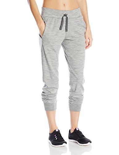 Icebreaker Damen Funktionshose Crush Pants, Metro HTHR/Charcoal, L, 102196001