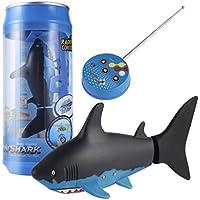 Baoblaze Elektronische Ferngesteuerter Roboter Fisch Schwimmen Hai Fisch  Roboter Spielzeug Für Kinder Wasser Spaß