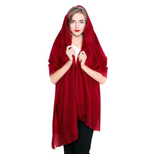 Women Oversized Large Ultra Soft Cashmere Wool Pashmina Wrap Shawl Stole Scarf