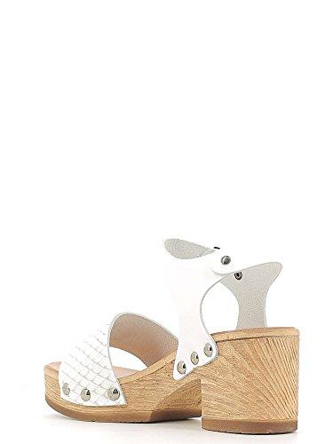 KEYS 5528 Sandalo tacco Donna Bianco