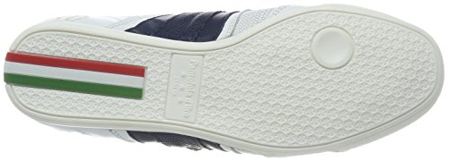 Pantofola Doro Herren Imola Funky Uomo Bassa Sneaker Weiß (bianco Brillante)