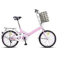 Bicicleta Plegable Permanente Bicicleta 20 Pulgadas Hombres Y Mujeres Estudiantes Bicicleta Adultos 16 Pulgadas Niños Bicicleta
