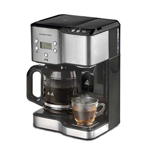 gourmetmaxx kaffee teestation 1900w fr bis zu 12 tassen kaffee oder 10 tassen heies wasser. Black Bedroom Furniture Sets. Home Design Ideas