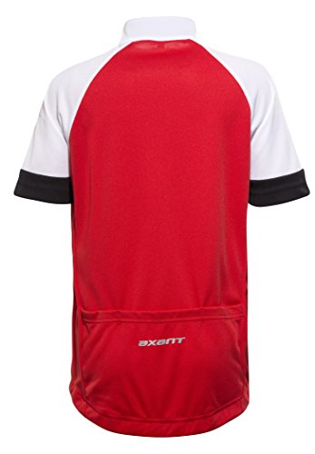 a5e2c38ae27ec4 Action axant Elite Bike Jersey Kids Red Black 2018 Radtrikot ...